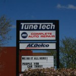 TuneTech DownTown Sign