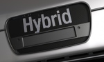 Hybrid Car Name logo