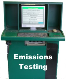 Emissions Test Machine